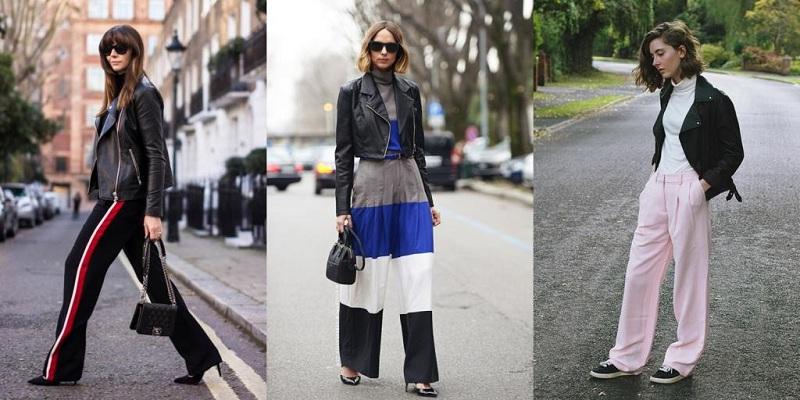 женские брюки завоёвывали своё место в гардеробе модниц