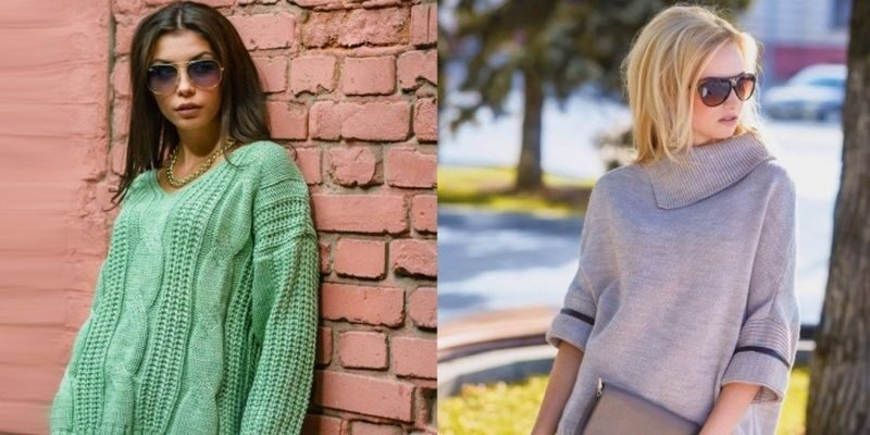 Модный тренд на женские свитера в 2018 году
